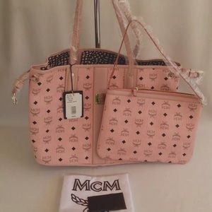 Brand New Authentic Pink MCM Bag